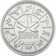 Kanada  1 Dollar 1978  Silber Edmonton Spiele