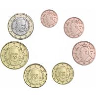 Vatikan 1,88 Euro 2016 bfr. 1 Cent bis 1 Euro lose