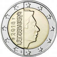 Luxemburg 2 Euro Münze 2018 Großherzog Henri Münzen sammeln