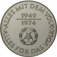 J.1551 - DDR 10 Mark 1974 bfr. 25 Jahre DDR Sonderpreis