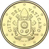 Vatikan 50 Cent Kursmünze 2018 Stgl. Motiv: Papst-Wappen von Franziskus