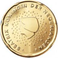 Niederlande 20 Cent 2002 bfr. Königin Beatrix