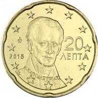 Griechenland 20 Cent 2015 bfr. Ioannis Kapodistrias