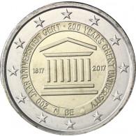 Belgien 2 Euro Sondermünze 200 Jahre Uni zu Gent 2017