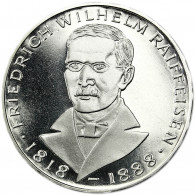 Deutschland 5 DM Silber 1968 PP Friedrich Wilhelm Raiffeisen