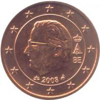 Belgien  5 Cent 2008 König Albert II.