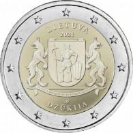 2 Euro Gedenkmünze 2021 Ethnographische Regionen – Dzūkija