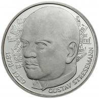 Deutschland 5 DM Silber- Gedenkmünze 1978 Stgl. Gustav von Stresemann