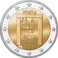 Malta 2 Euro-Gedenkmünze 2018 Kulturelles Erbe Serie -  Von Kindern mit Solidarität mit Mzz. Füllhorn