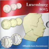 Luxemburg 3,88 Euro 2015 bfr. KMS - Sondersatz  im Folder