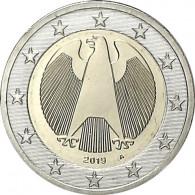 Kursmünzen 2 Euro Bundesadler Münzzubehör bestellen