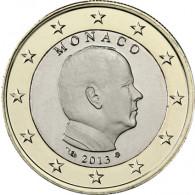 1 Euro Münze Monaco 2013 Albert II