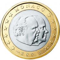1 Euro Muenze 2004 PP Monaco