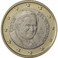 Euromünzen und Sammlermünzen bei Historia Vatikan 1 Euro 2013 Stgl.  Papst Benedikt XVI.