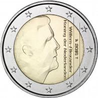 2 Euro Muenze Niederlande Willem Alexander
