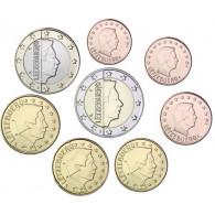 Euro-Kursmünzensatz Luxemburg 2012