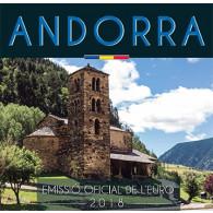 Kursmünzensatz aus Andorra bei Ihrem Münzhändler Historia Hamburg erhältlich