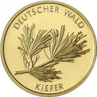 BRD 20 Euro Gold 2013 Stgl. Deutscher Wald : Kiefer Mzz . F