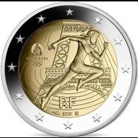 Frankreich-2-Euro-2021-bfr-Paris-2024-Olympische-Spiele-I