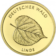 Deutschland 20 Euro Gold 2015 Stgl. Deutscher Wald: Linde Mzz. G