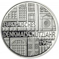 Deutschland 5 DM Silber 1975 PP Europäisches Denkmalschutzjahr