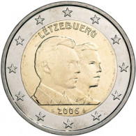 Luxemburg 2 Euro 2006 bfr. Henri & Guillaume