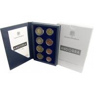 Kursmünzensatz Andorra 2014 KMS 1 cent bis 2 Euro Münzen