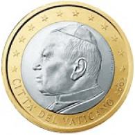 Vatikan 1 Euro 2002 bfr. Papst Johannes Paul II