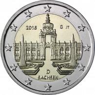 2 Euro Münze 2016 Dresdner Zwinger