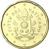 20 Cent Umlaufmuenzen Vatikan 2017 Papstsiegel