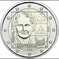 Italien-2-Euro-Maria-Montessori-bfr-I-