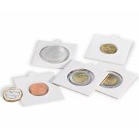 Muenzraehmchen Matrix  weiß 100er Pack selbstklebend Zubehoer 314616