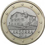 1 Euro Andorra Kursmuenzen Bankfrisch