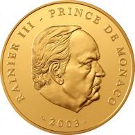 Monaco 100 Euro 2003 PP Rainer III. Grimaldi Prinz von Monaco