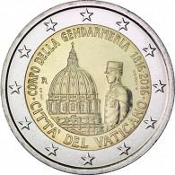 2 Euro Gedenkmünze Gendarmerie Vatikan 2016