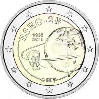Forschungssatelit Esro aus Belgien 2 Euro Münzen online bestellen
