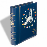 341040 - VISTA Euro Münzalbum Band 1 inkl.Schutzkassette