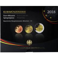 Euro-Kurssatz Deutschland 5,88 Euro 2018 PP im Blister Mzz. D