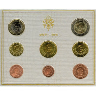 Vatikan 3,88 Euro-Münzen 2006 KMS Papst Benedikt XVI. im Folder
