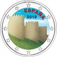 Altstadt Avila und ihre Kirchen 2 Euro Sondermünze aus Spanien