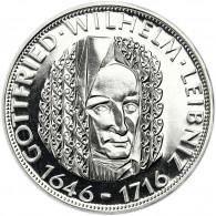Deutschland 5 DM Silber 1966 PP Gottfried Wilhelm Leibniz