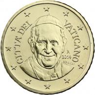 Kursmünzen Vatikan 50 Euro-Cent 2014 mit dem Motiv Papst Franziskus ✓ selten ✓ Nie im Zahlungsverkehr zu finden ✓ Münzkatalog bestellen