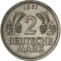 J. 386  2 DM 1951 Trauben und Ähren  Mzz. D