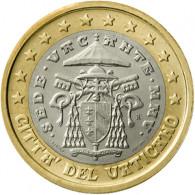 Vatikan 1 Euro Münze 2005 Sedisvakanz