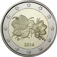 Finnland 2 Euro 2014 bfr. Moltebeere