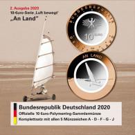 Folder Leer - Luft bewegt 2020- An Land