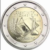 San-Marino-2-Euro-2009-Kreativität-und-Innovation-II