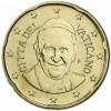 Vatikan 20 Cent Papst Franziskus