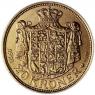 Dänemark-20-Kronen-1913---1931-König-Christian-X-II