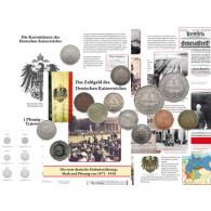 Typensammlung Kursmünzen Kaiserreich